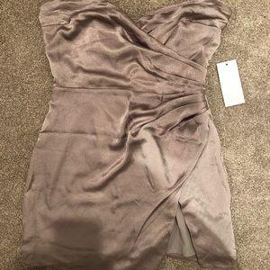 Tobi Pewter Dress